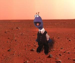 George on Mars