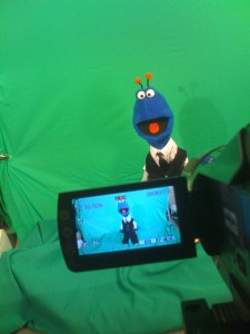 Green Screening!